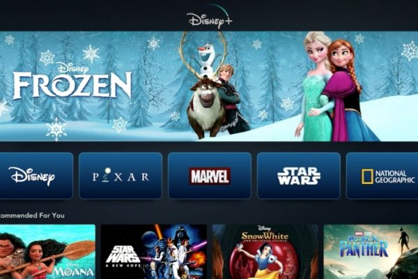 Disney+ screen shot