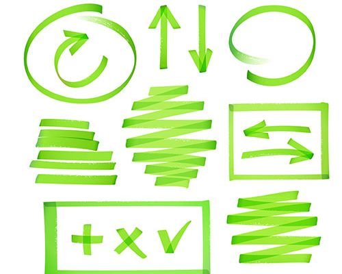 Green scribble to represent VIsual IP